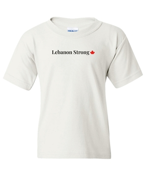 Picture of Lebanon Strong Youth T-shirt